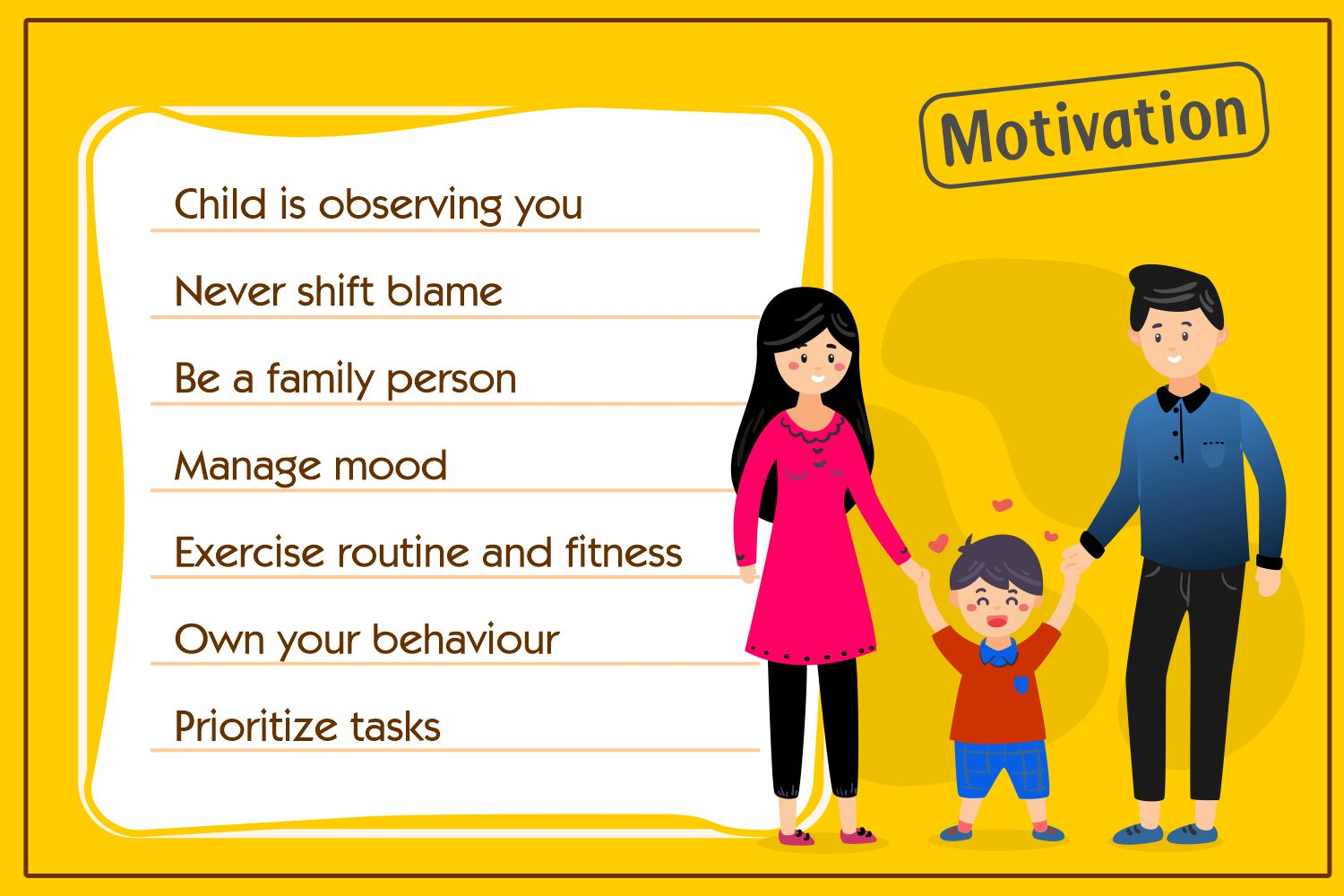 Motivational Things to do by Parents