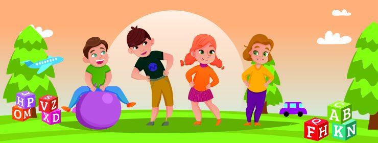 Human development in childhood